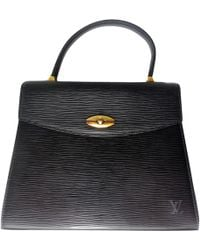 Louis Vuitton - Malesherbes Leather Handbag - Lyst
