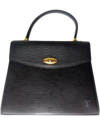 Louis Vuitton - Malesherbes Leather Handbag - Lyst