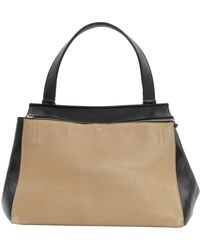 Céline Edge Black Leather Handbag