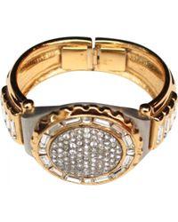 Dior - Gold Metal Bracelet - Lyst
