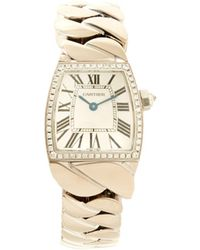 Cartier - Dona White Gold Watch - Lyst