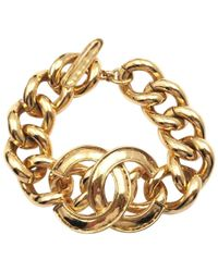 Chanel - Gold Metal - Lyst