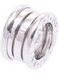 BVLGARI - Pre-owned B.zero1 White Gold Ring - Lyst