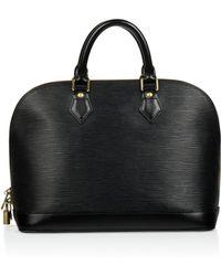 Louis Vuitton - Alma Leather Tote - Lyst