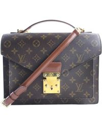 Louis Vuitton - Monceau Cloth Crossbody Bag - Lyst