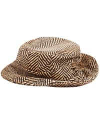 Etro - Pre-owned Leather Hat - Lyst