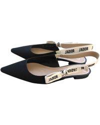 c57c1bf37f3 Lyst - Dior Diorissimo Slide Sandals in Black