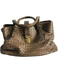 398c2bcc0cb2 Bottega Veneta Velvet Large Hobo Bag in Purple - Lyst