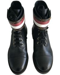 Louis Vuitton - Leder Stiefeletten - Lyst