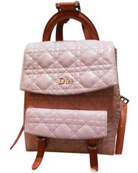 Dior | Pre-owned Leather Backpack | Lyst