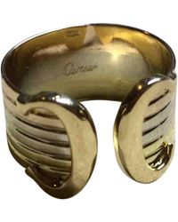 Cartier - C Yellow Gold Ring - Lyst