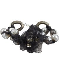 Lanvin Black Pearls