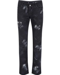 Chanel - Pre-owned Black Cotton - Elasthane Jeans - Lyst