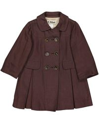 Chloé - Brown Silk Jacket - Lyst