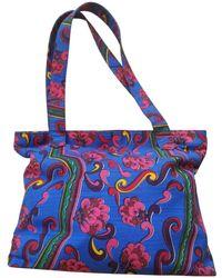 Versace - Pre-owned Vintage Multicolour Cloth Handbag - Lyst