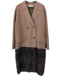 Marni - Wool Coat - Lyst