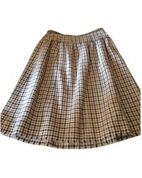 Chanel - Multicolour Polyester Skirt - Lyst