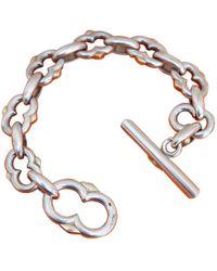 Hermès - Vintage Chaîne D'ancre Silver Silver Bracelets - Lyst