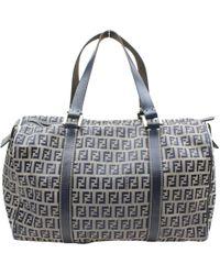 74681b5a7c Lyst - Fendi Zucchino Travel Bag - Vintage in Black
