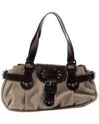 Longchamp - Cloth Shoulder Bag - Lyst