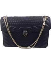 BVLGARI - Serpenti Leather Handbag - Lyst
