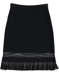 Alaïa - Mid-length Skirt - Lyst
