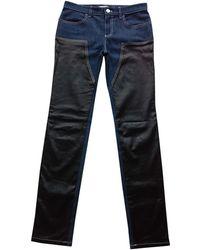 Givenchy Jeans droit denim, jean bleu