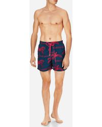 Vilebrequin - Men Swimtrunks Embroidered Palmiers - Limited Edition - Lyst
