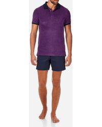 Vilebrequin - Contrasted Terry Polo - Lyst