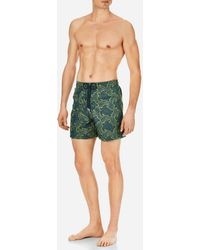 Vilebrequin - Men Swimwear Embroidered Hypnotic Turtles - Limited Edition - Lyst