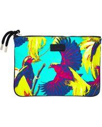 Vilebrequin - Zipped Cotton Beach Pouch Birds Of Paradise - Lyst