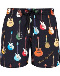Vilebrequin - Men Swimtrunks Brian May Guitars - Lyst