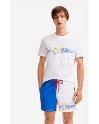 Vilebrequin - Men cotton t-shirt Squale - x JCC+ - Limited Edition - Lyst