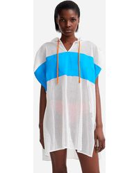Vilebrequin - Women Sleeveless Hoddy Cover-up Mesh - X Jcc+ - Limited Edition - Lyst