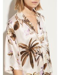 Vince Pale Alder Tropical Garden Pyjama - Multicolour