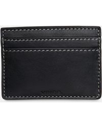 5d5709ce5a Lyst - Vince Croc-embossed Leather Pouch in Blue
