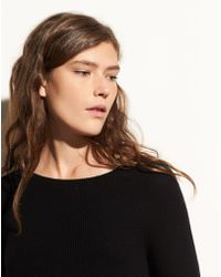 Vince - Directional Rib Cashmere Pullover - Lyst