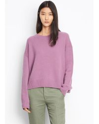 Vince - Cashmere Boxy Crew - Lyst