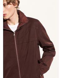 Vince - Zip Front Jacket - Lyst