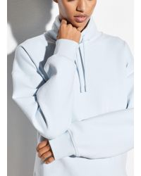 Vince - Funnel Neck Pullover Sweatshirt - Lyst