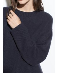 Vince - Boxy Boiled Cashmere Crew - Lyst