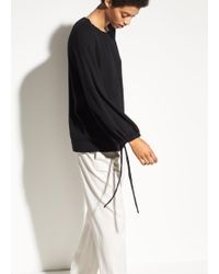 Vince | Cashmere Scrunch Sleeve | Lyst