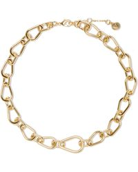 Vince Camuto - Goldtone Chain Link Necklace - Lyst