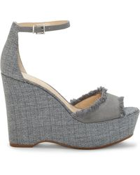 Vince Camuto - Tatchen Wedge Sandal - Lyst