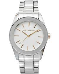 Vince Camuto - Round-dial Bracelet Link Watch - Lyst