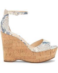 Vince Camuto - Tatchen – Platform Wedge Sandal - Lyst