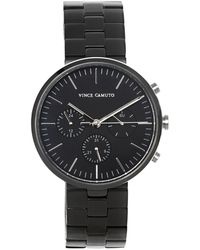 Vince Camuto - Black Modern Link Watch - Lyst