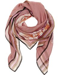 Vince Camuto - Abstract Blossom-print Scarf - Lyst