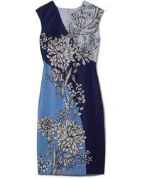 60b56ed9 Vince Camuto Geo Sequin Sheath Dress in Blue - Lyst