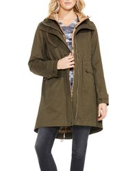 Vince Camuto - Hooded Parka With Bib - Lyst